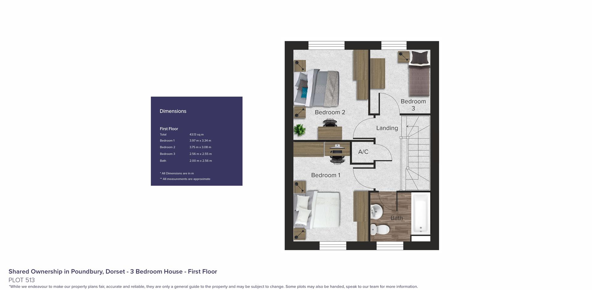 Shared Ownership in Poundbury, Dorset_Plot 513_FF_